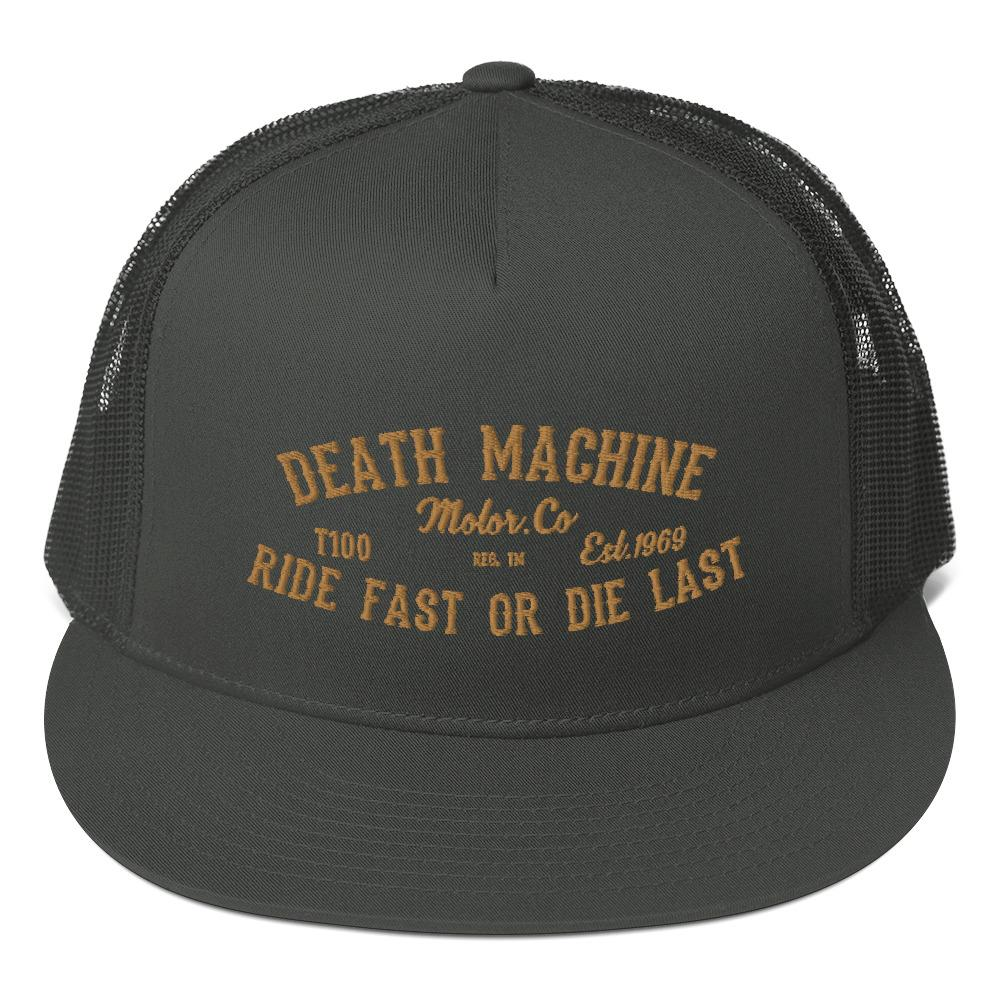 Snapback trucker cap *Death Machine* - Caps and Tees