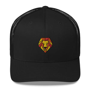 Snapback trucker Cap *Origami Lion* - Caps and Tees