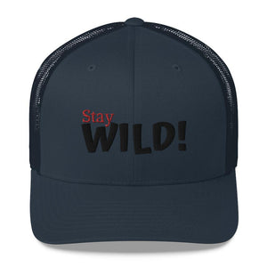Snapback trucker cap *Stay Wild* - Caps and Tees
