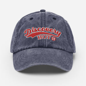 "Vintage Dad hat pet ""Discovery"" - Caps and Tees"