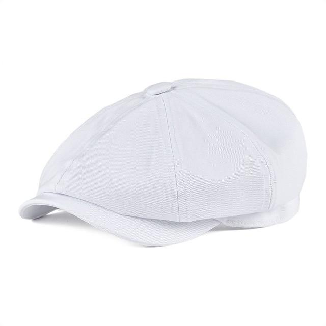 Zomerse katoenen newsboy cap - Caps and Tees