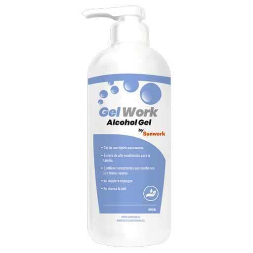 Alcohol Gel 1000 Ml con dosificador