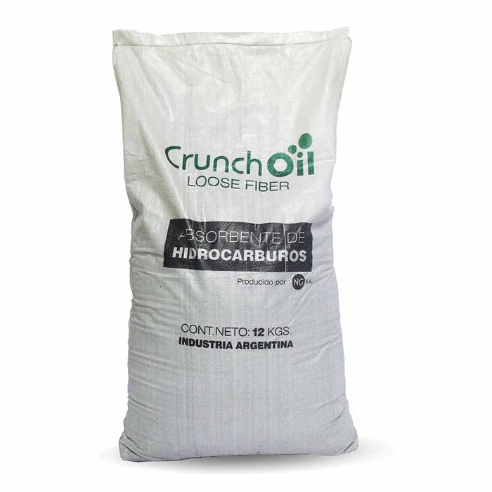 Absorbente Crunch Oil Loose Fiber Saco 12 Kilos