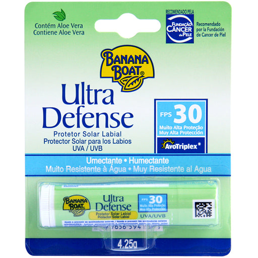 Ultra Defense Banana Boat Labial Fps 30