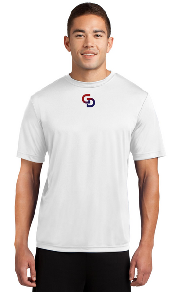 GD White Sport Tek Posicharge Competitor Tee
