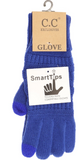 SOLID CABLE KNIT CC GLOVES