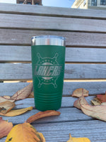 Lakers Green Polar Camel Travel Mug