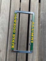 Oswego State Alumni License Plate Holder
