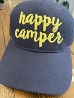 Happy Camper Mesh Back High Ponytail Color changing
