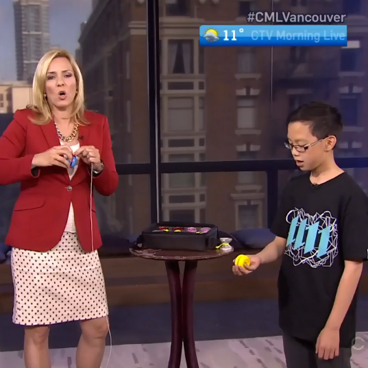 Harrison Lee On CTV News Vancouver - CLYW