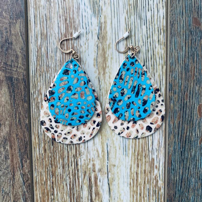 City Tear Drop Earrings
