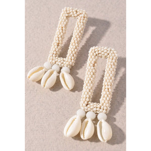 Natural Shell Earrings