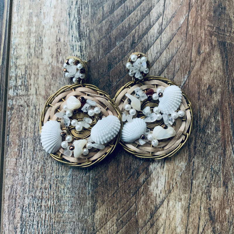 Shell Love Earrings