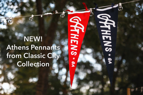 Athens Pennants | Classic City Collection