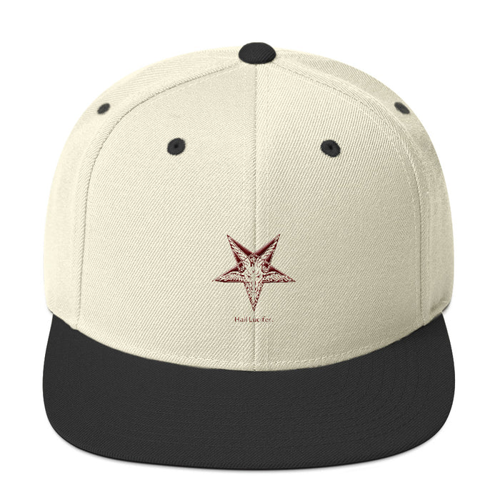 Hail Lucifer Snapback Hat