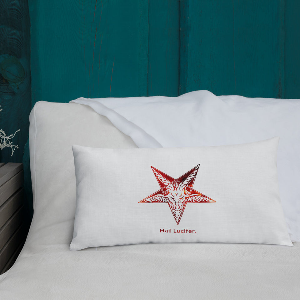 Hail Lucifer Premium Pillow
