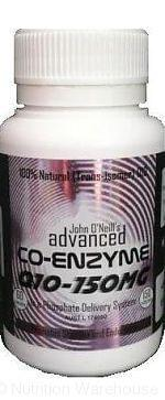 JOHN O'NEILL ADVANCED NUTRITION CO Q10 150MG - Supplements Central