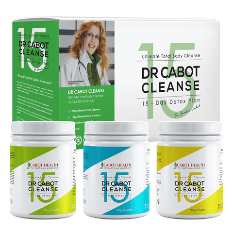 DR CABOT CLEANSE - 15 DAY DETOX PLAN