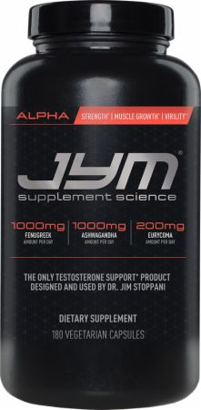 JYM Alpha TESTOSTERONE增強劑