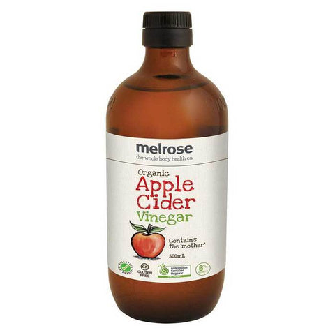 ORGANIC APPLE CIDER VINEGAR Double Strength 500ml