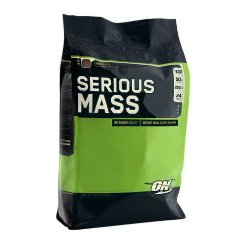 OPTIMUM NUTRITION SERIOUS MASS - Supplements Central