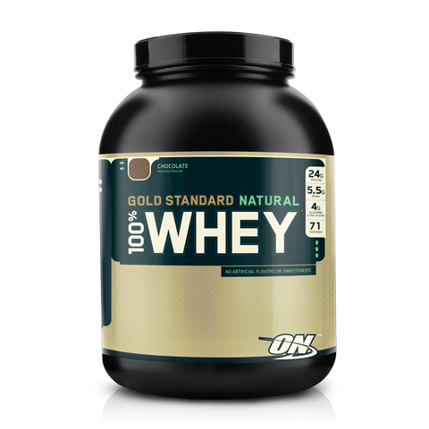 OPTIMUM NUTRITION 100% WHEY PROTEIN NATURAL - Supplements Central