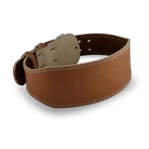 Classic Leather Belt - Tan - Supplements Central