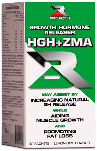 BODY RIPPED HGH + ZMA SACHETS