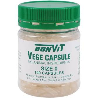 vegetable capsules vegan