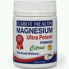 CABOT HEALTH MAGNESIUM POWDER - Supplements Central