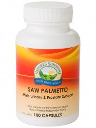 NATURES SUNSHINE SAW PALMETTO - Supplements Central