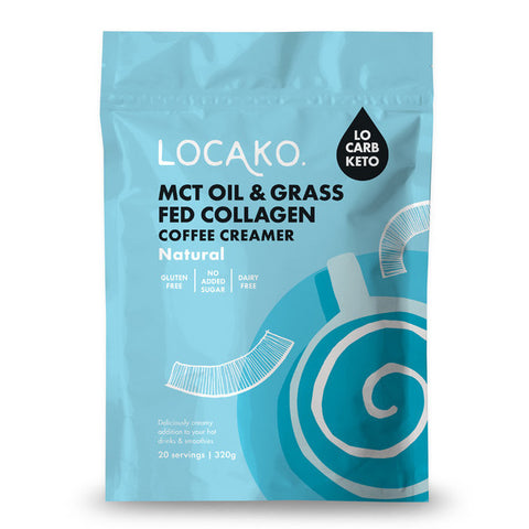 Keto Coffee Creamer Natural MCT + Collagen