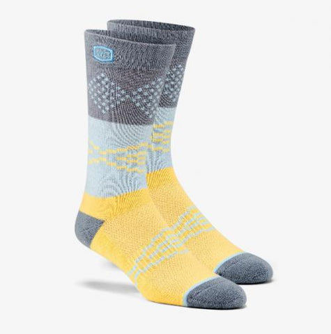 ANTAGONIST Casual Socks Yellow