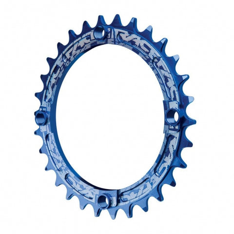 Chainring Narrow Wide 104X30 10-12S Blue
