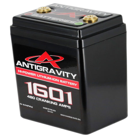 Small Case 16-Cell 480 Cranking Amp Lithium Motorsports Battery