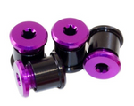 Chain Ring Bolts T-30Nut T-25Bolt Purple