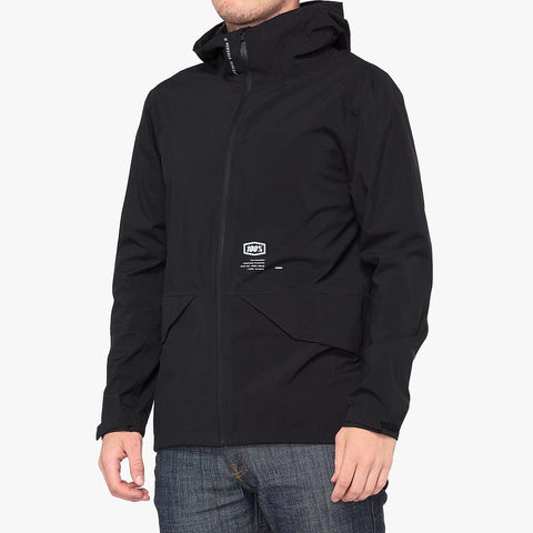 HYDROMATIC PARKA Lightweight Waterproof Jacket Black