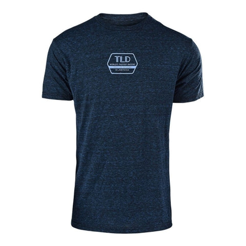 Flowline Tech Tee Factory Midnight Blue M