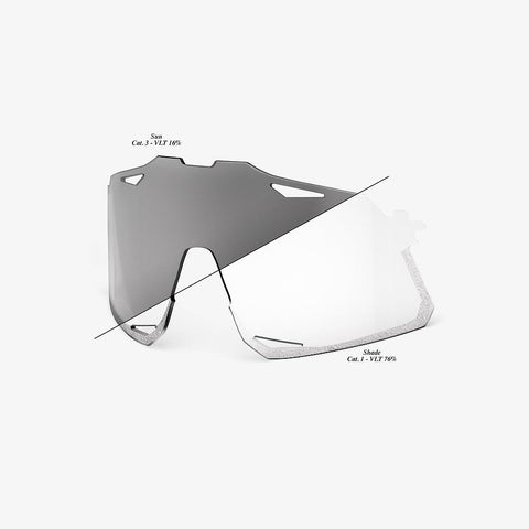 HYPERCRAFT Replacement Lens - Photochromic Clear/Smoke