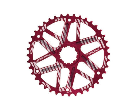 42T Shimano 10 Speed 36T Cassette Red