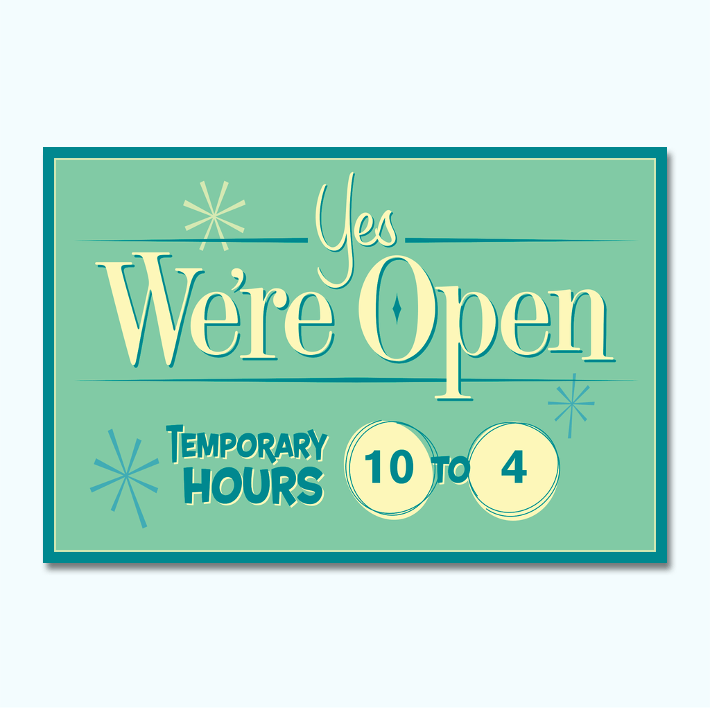Jeff Barton - Yes We're Open-Hey There Signs