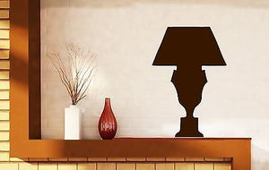 Wall Stickers Vinyl Decal Light Bulb Emission Lampshade Stand n406
