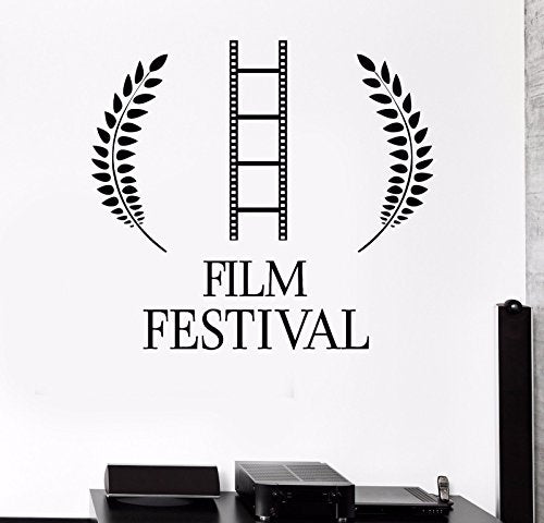 Vinyl Wall Decal Film Festival Cinema Movie Stickers Mural 153