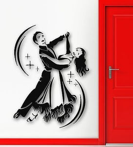 Wall Stickers Vinyl Decal Dance Waltz Wedding Celebration Passion 538
