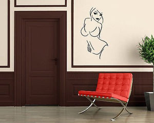Sexy Hot Girl Body Bikini Lingerie Wall Decor Mural Vinyl Decal Art Sticker M594