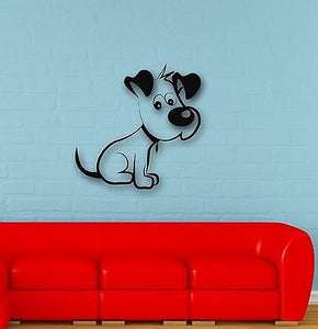 Wall Stickers Vinyl Decal Funny Puppy Dog for Kids Room Nursery 657