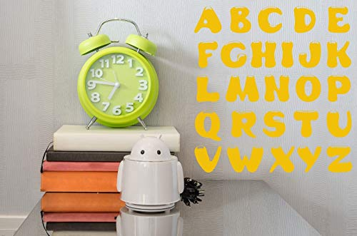 Vinyl Decal Wall Sticker Alphabet Lettering Decor for School and Pupils n697
