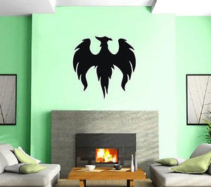 Heraldy Bazons Middle Ages Eagle Wall Art Decor Vinyl Sticker z269