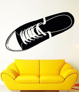 Wall Sticker Vinyl Decal Teens Youth Symbol Shoe Super Cool Decor z1056