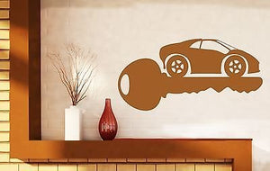 Wall Sticker Machine Housekeeper Key Lock Alarm Vinyl Decal n449